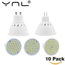 10 قطعة/الوحدة Led GU10 MR16 E27 E14 Led المصباح الكهربي 220 فولت عالية مشرق Bombillas LED SMD2835 48/60/80 المصابيح لامبارا للمنزل الأضواء