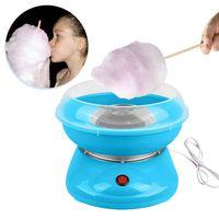 EU Plug 220V Electric Cotton Candy Machine Sugar Cotton Candy Maker Party DIY Blue