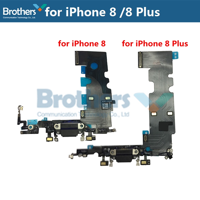 For iPhone 8 8 Plus USB Charging Flex Cable For iPhone 8 Plus Charging Dock Connector Charger Board