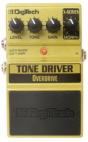 DigiTech XTD tono conductor Overdrive Pedal