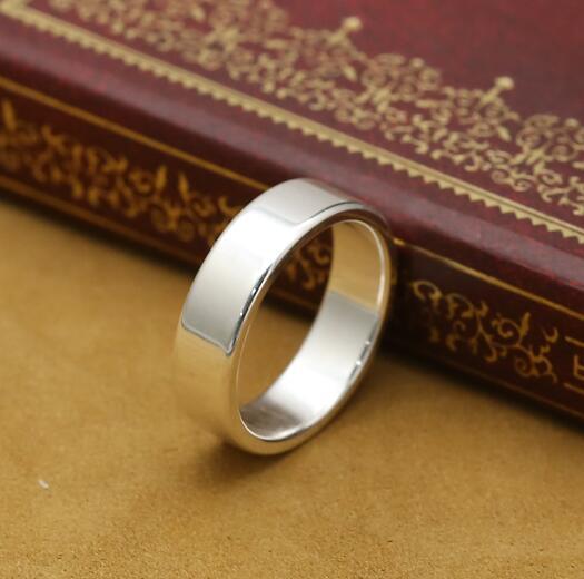 Handgemachte 999 Silber Ring Echt Reine Silber Ring Unisex Silber Ring Schmuck Geschenk