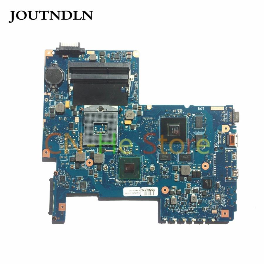 Joutndln для Toshiba satelite C670 L775 Материнская плата ноутбука H000032390 08N1-0N1J00 DDR3 HM65 W/GT540M GPU