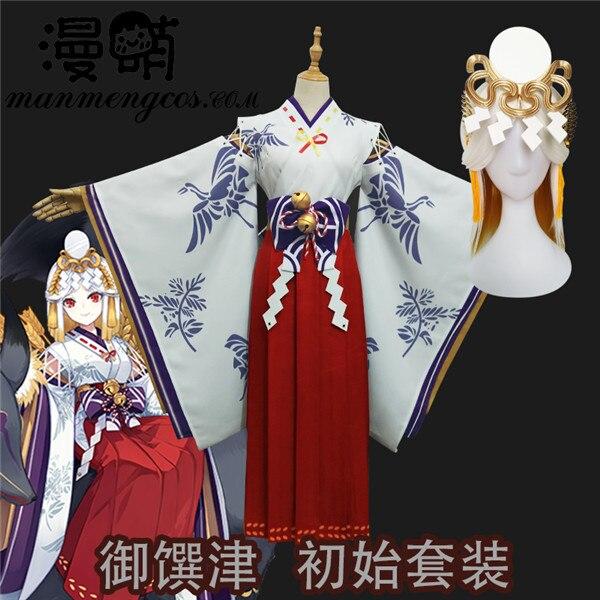 [Stock]Game Onmyoji Cosplay  No Awakening Psychic Carnival Halloween Party Cosplay Costumes For Women Free Shipping