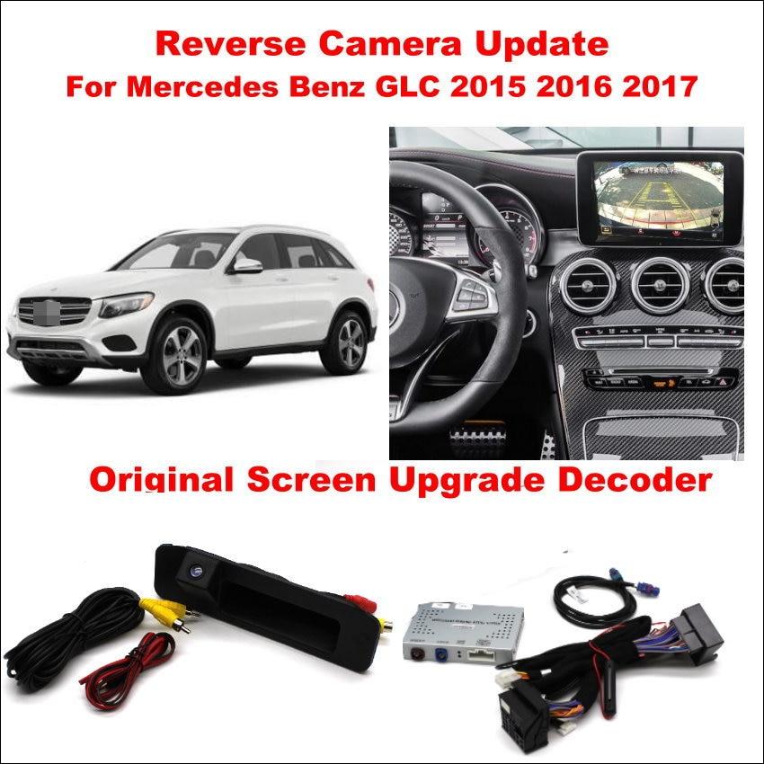 Liislee-système de mise à jour décran   Pour Mercedes Benz GLC 2015 ~ 2017 Original/décodeur numérique/piste dinversion + caméra arrière