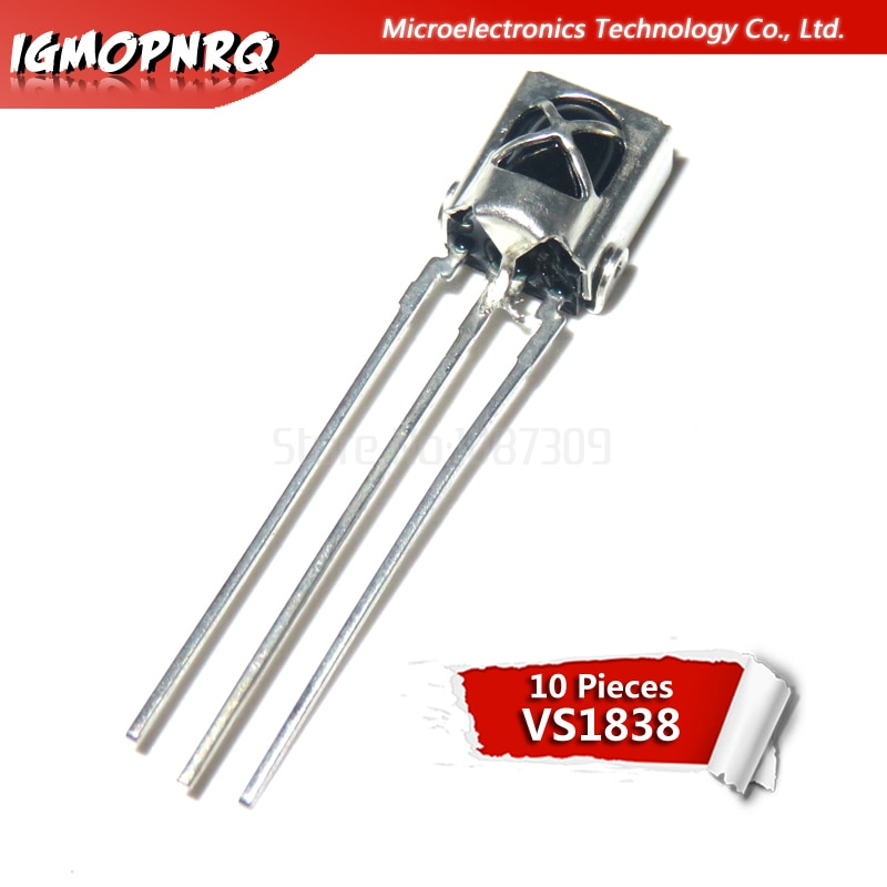 10PCS TL1838 VS1838 VS1838B eral integração universal cabeça de recepção infravermelho/sensor Infravermelho