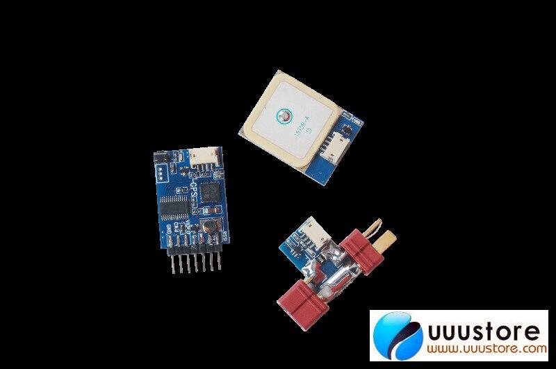Skylark pequeña OSD III 23G W/10 HZ GPS y Cable USB para FPV sistema