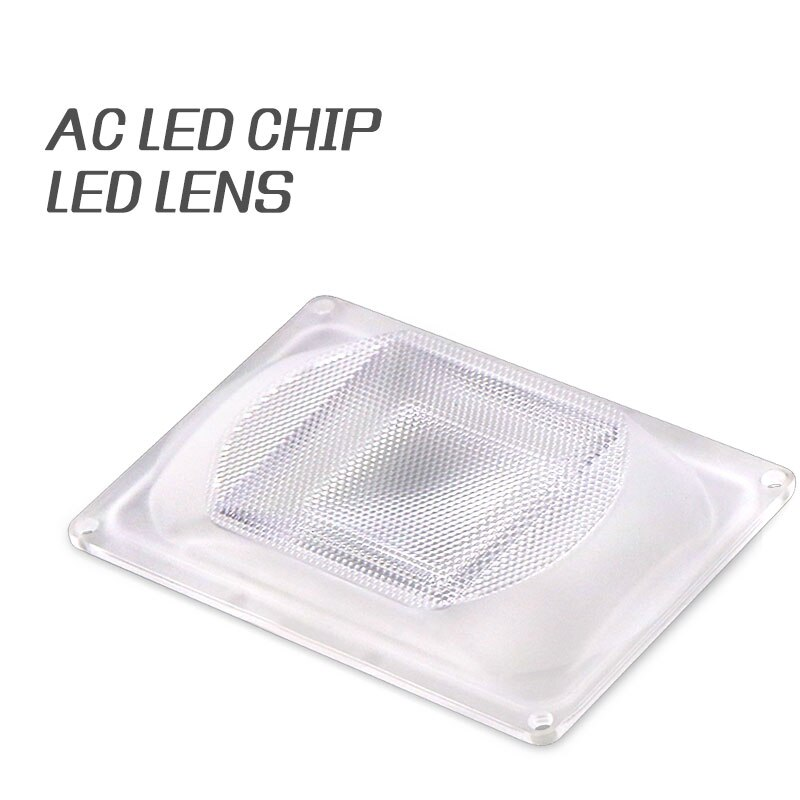 1 Juego de Reflector de lentes LED para luces LED cob incluye Lente de Ordenador + Reflector + anillo de silicona cubierta de la lámpara
