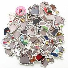 TD ZW 2019 100 Stuks Cartoon Kat Stickers Decal Voor Snowboard Laptop Bagage Auto Koelkast DIY Styling Vinyl Home Decor pegatina