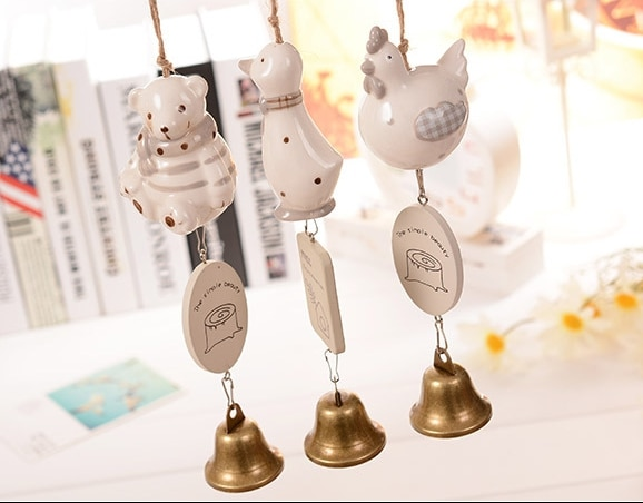 Ceramic Animal Fengling Dormitory Doors Of Metal Bell Indoor Door Act The Role Ofing Is Hanged Adorn Hanging Ornament 2020