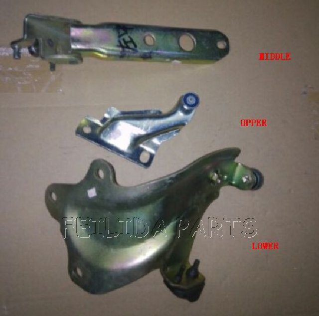 Braço traseiro do rolo da porta lateral esquerda & direita para mitsubishi l300