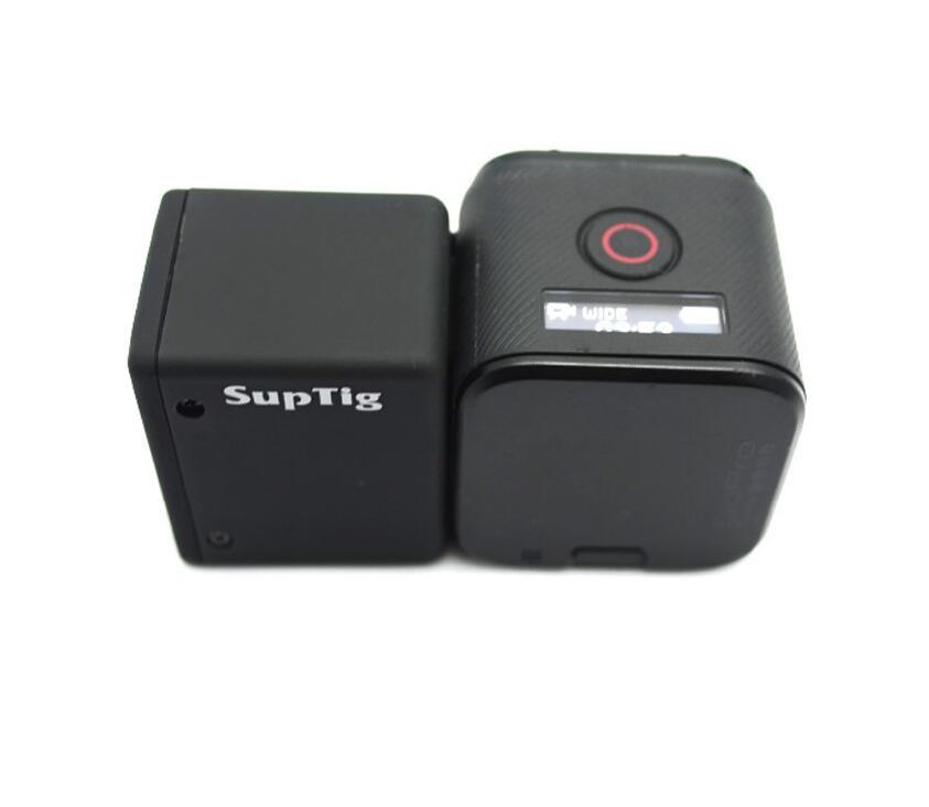 Suptig для GOPRO4 SESSION battery 1050MA расширенная батарея + Водонепроницаемый чехол для GOPRO HERO SESSION/4s