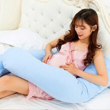 1 pièces mode 70x120cm u-forme tenir abdominaux taille oreillers femmes enceintes côté sommeil oreiller femmes enceintes fournitures