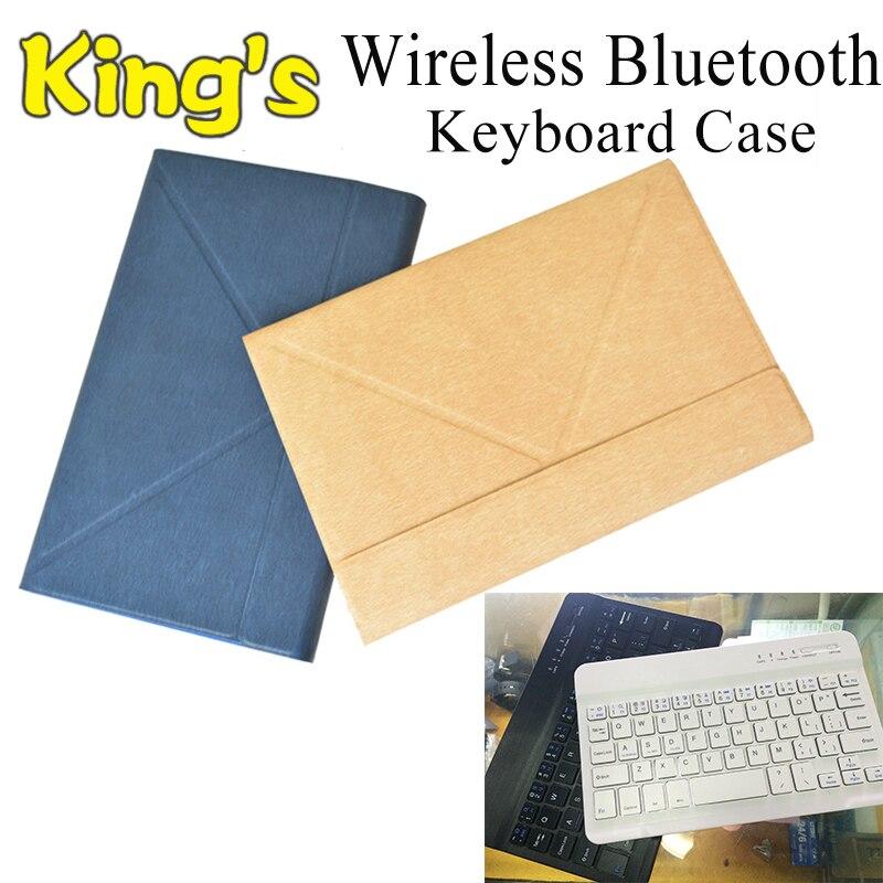 PU Универсальный местный язык беспроводной Bluetooth клавиатура чехол для Amazon Kindle Fire HD10 2017 10,1