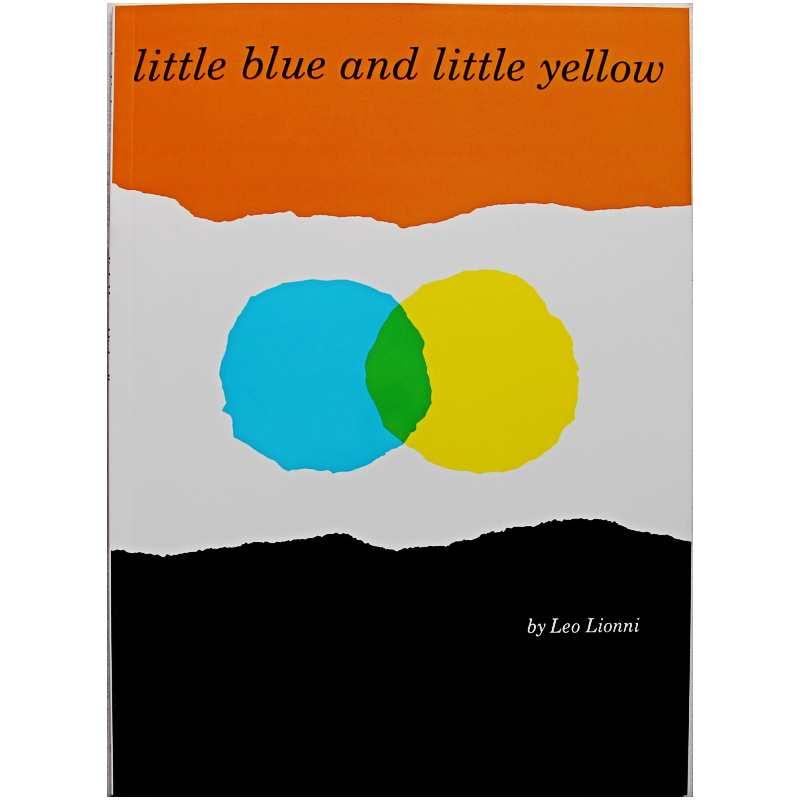 Обучающая английская книга Leo Lionni, маленькая, синяя и Желтая книга с рисунком, обучающая карта, книга для детей, подарок