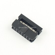 10 Uds por lote de 2mm 2,0mm 2x6 Pin, 12 Pin IDC FC conector hembra