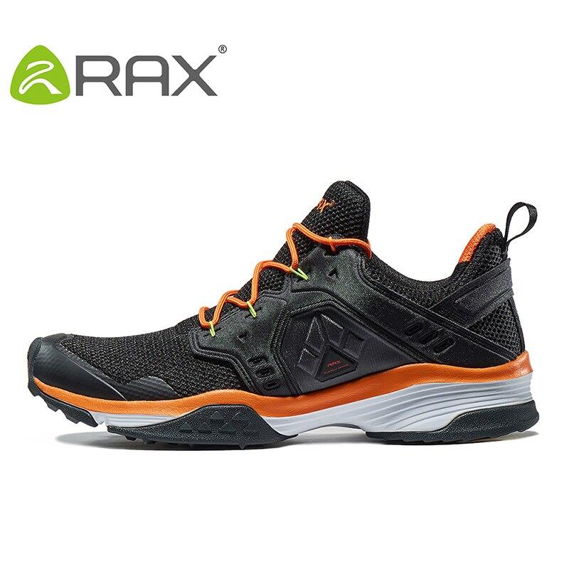 Zapatos de senderismo para invierno RAX para hombre, calzado de montaña de malla transpirable para exterior con suela antideslizante, zapatos de escalada EVA para Trekking para mujer