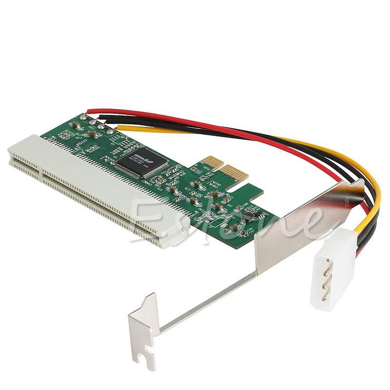 1 Set PCI-Express PCI-E PCI Riser tarjeta de autobús de alta eficiencia Adaptador convertidor tarjeta de expansión