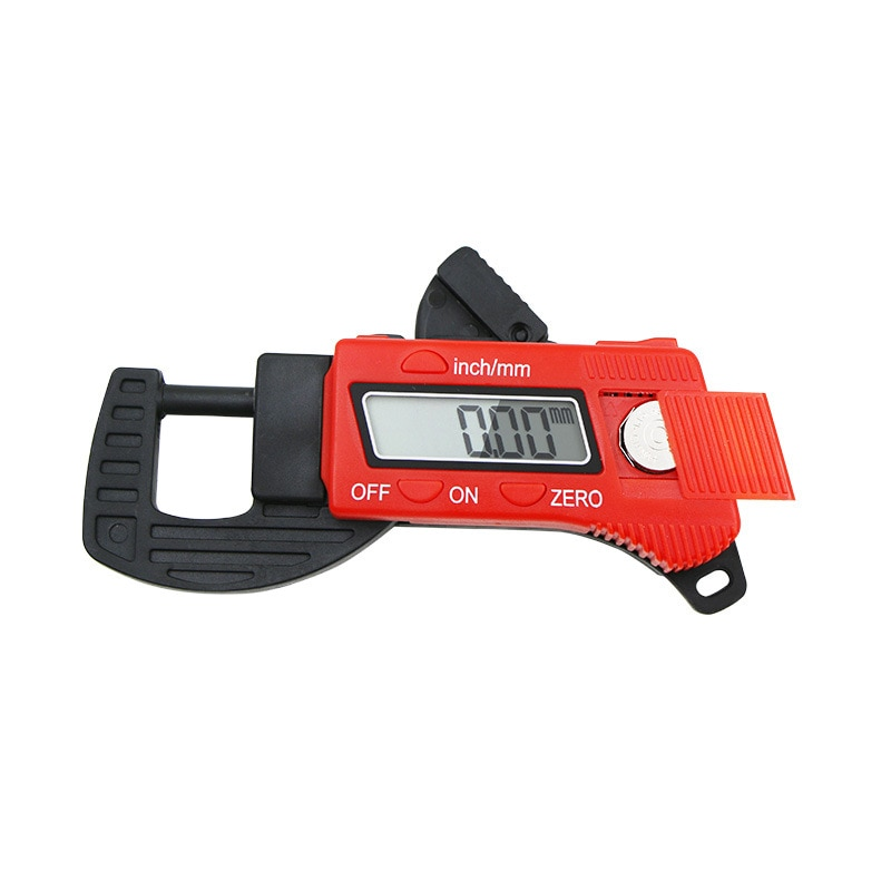 Medidor De Espesor Digital profesional 0,01mm Mini Dial medidor de espesor medidores de ancho herramientas de medición
