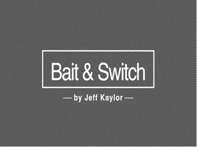 2015 Bait & Switch by Jeff Kaylor-Magic Tricks недорого