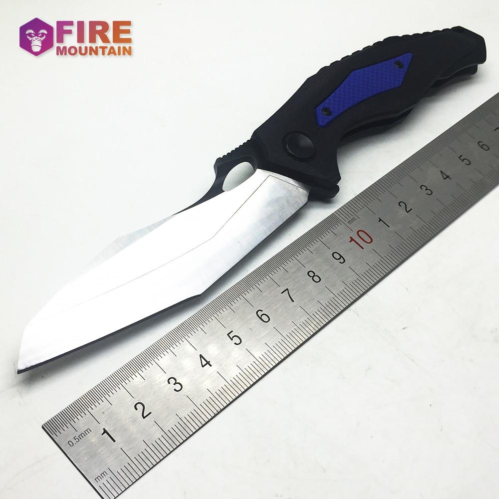 Складной нож с шарикоподшипником BMT 0427, лезвие с рукояткой G10, тактический охотничий нож для выживания, инструменты для кемпинга, EDC