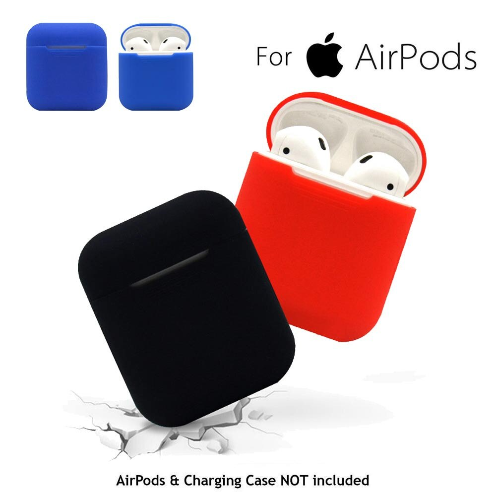 # H30 Mini funda de silicona suave para Apple Airpods cubierta a prueba de golpes para Apple auriculares AirPods fundas para funda protectora de Airpods