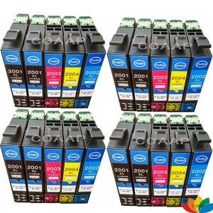 20 X Compatible ink cartridge T200XL for Epson XP100 XP400 XP200 XP300 WF 2530 2540 Workforce 2510 Printer T2001XL - T2004XL