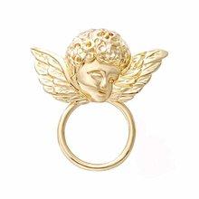 Золотой цвет ангел магнитный держатель для очков Солнцезащитная вешалка Магнитная брошь Магнитная булавка для чтения очки булавка для жен...