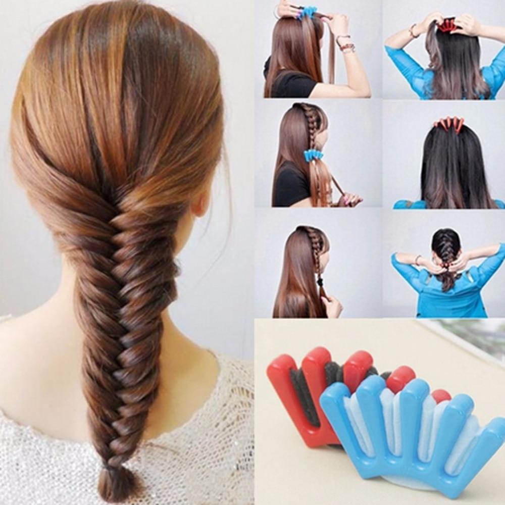 Оплетка для волос, губка для волос, заплетать волосы в косу, инструмент для укладки оплетки, губка для волос, инструмент для укладки оплетки