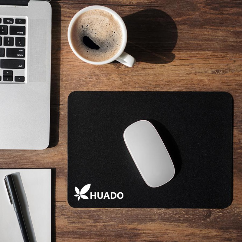 Tapete de rato de borracha preta 18*22 cm mouse pad mousepad personalizado para gamer gaming/overwatch/csgo/dota 2