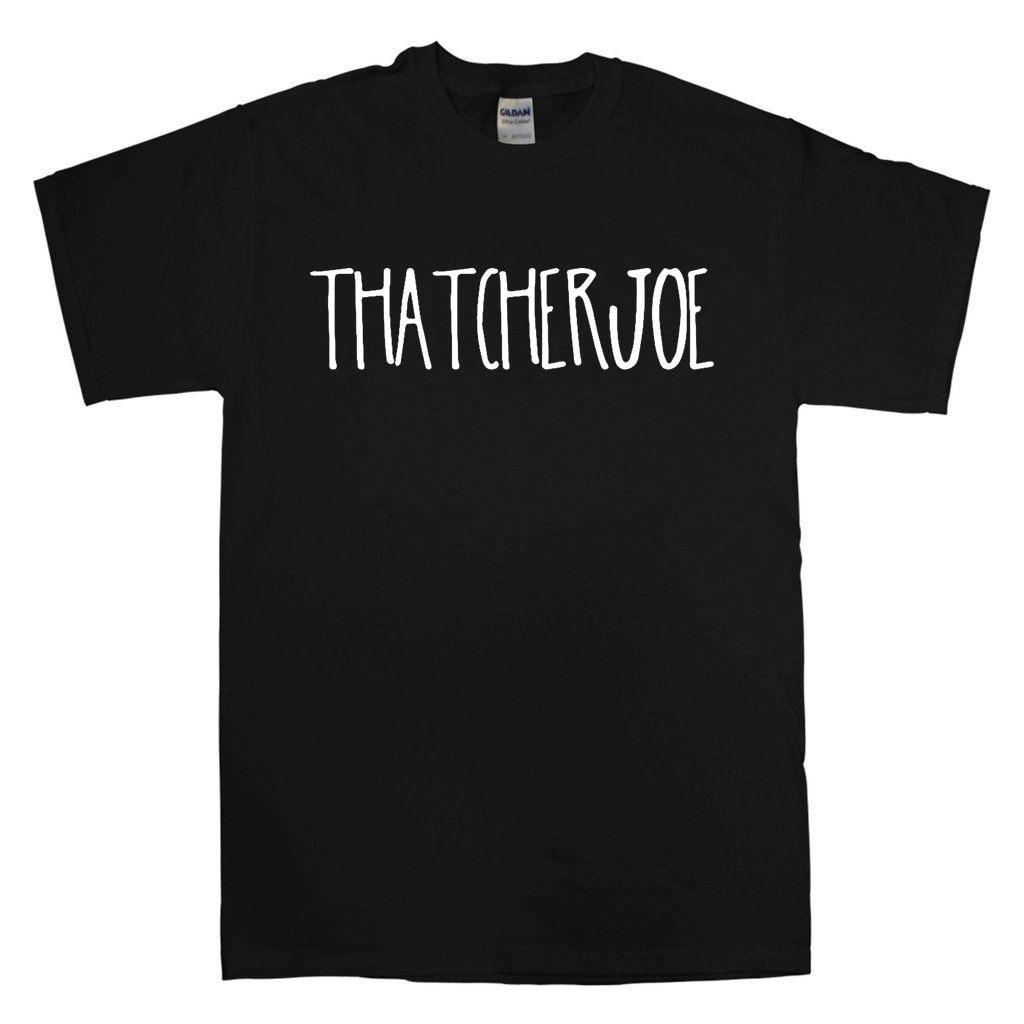 Camiseta de thecherjoe YOUTUBE JOE suggg ZALFIE TUMBLR ZOELLA blanco sin sentido UNISEX 100% algodón de manga corta cuello redondo Tops camisetas