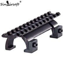 SINAIRSOFT Style MP5, MK5,HK, G3,GSG5 support de portée de griffe pour fusil de chasse Picatinny/garde-main de Rail de tisserand-MDMP5 SA4452A