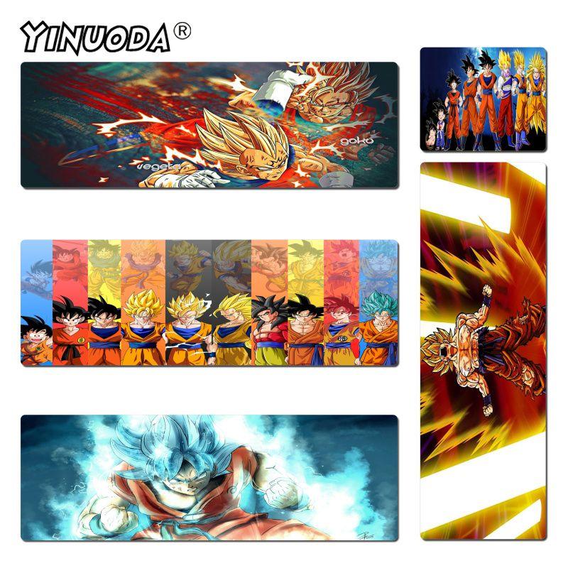 Yinuoda мой любимый Dragon Ball z goku DragonBall игровые или офисные игровые коврики для мыши Размер 300x900 мм и 400x900 мм