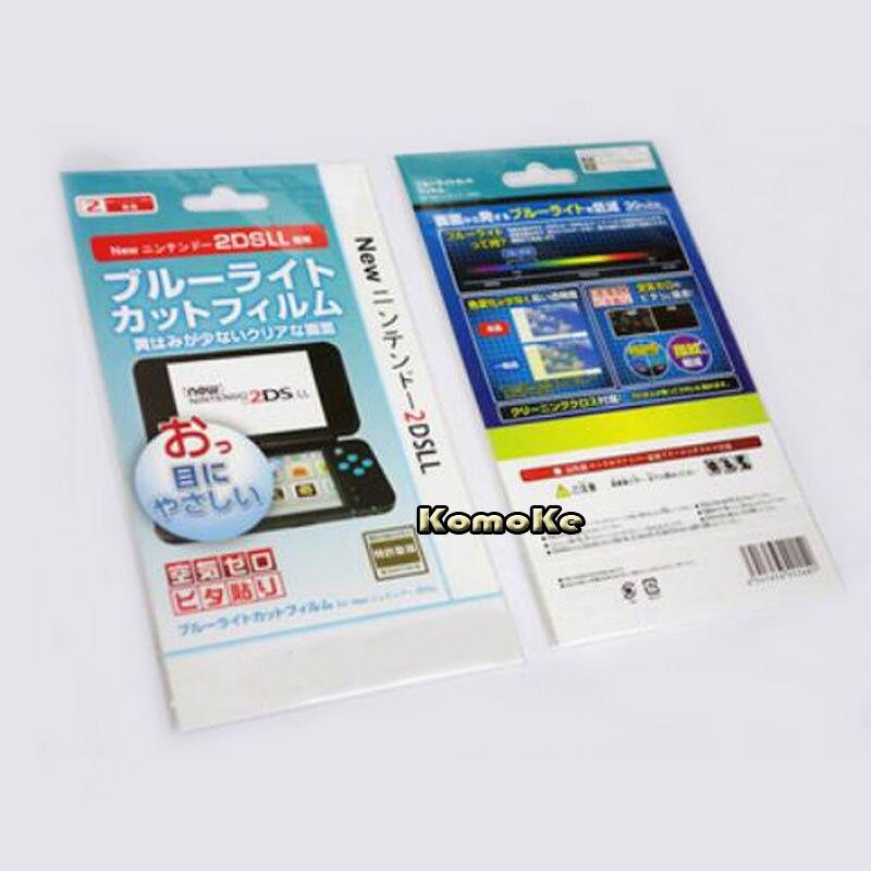 2в1 Верхняя Нижняя HD прозрачная защитная пленка для поверхности для Nintendo New 2DS XL/LL 2DSXL/2DSLL Защитная пленка для ЖК-экрана