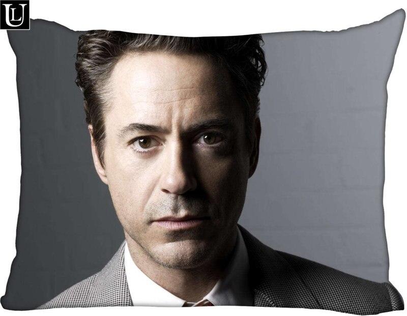 Custom Robert Downey Jr. Rectangle Pillowcase zipper Classic Pillow Case DIY Pillow Case With Your Picture 20x30inch