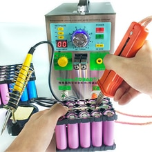 3.2KW 709AD + machine de soudage par points 18650 batterie pack impulsion soudage par points induction automatique avec stylo de soudage et fer à souder