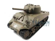 100% metall Mato 1/16 M4A3 Sherman RC Tank RTR Infrarot Recoil Armee Grün 1230 TH00673