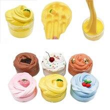 Yummy Butter Cream Slime Mud Modeling Fruit Children Intelligent Plasticine DIY Magic Playdough Lizun Clay Kids Toy Gifts