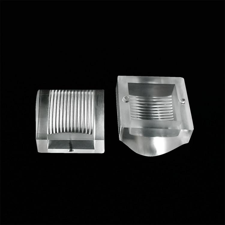 20*20 mm Stripe Surface  PMMA Waterproof Led Lens