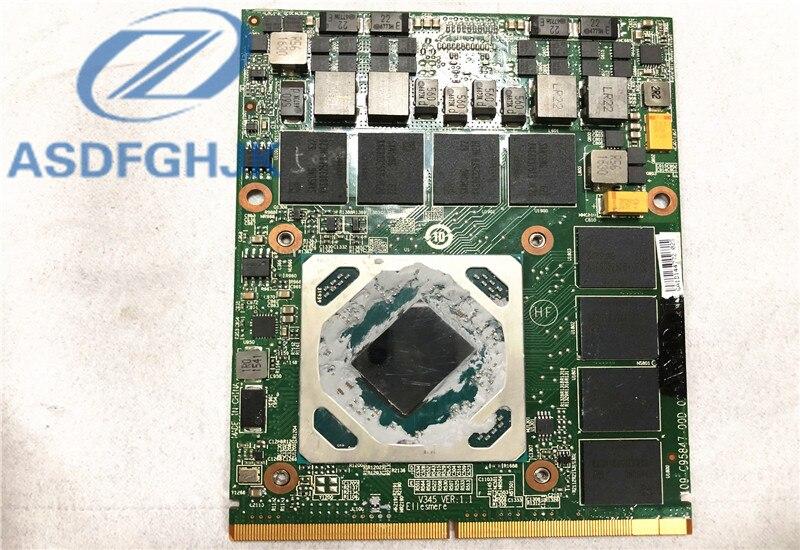 Оригинал 109-C95847-00D-02 для AMD для FirePro w7170m M390X ноутбук видеокарта 4 Гб 5 whcd GPU 100% ТЕСТ ОК