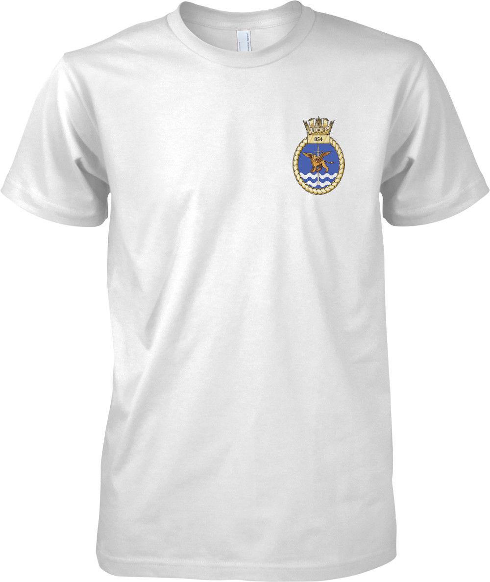 T-Shirt 2019 mode hommes offre spéciale hommes T-Shirt mode 854 Naval Air Sqn flotte Air Arm-Royal Navy O cou T-Shirt