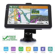 Lkw GPS navigator Navitel 7 inch HD LCD screen FM256MB satellite stimme wird tragen Tschechische navigation auto zubehör 2019 neueste