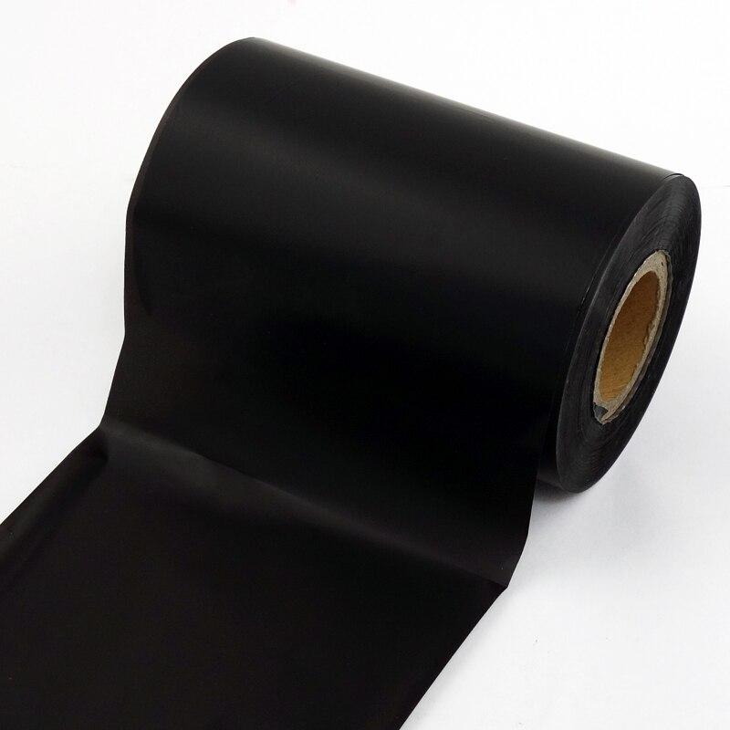 """Fita de Transferência térmica 60 mm x 300m Revestidos Com Resina para PET/PVC/Vinil rolo de Etiquetas TSC Zebra eltron impressora de etiquetas 1 """"core"""