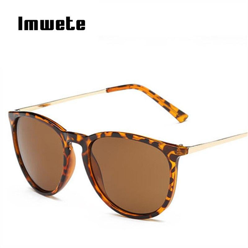 Imwete gafas espejadas Vintage hombres mujeres gafas de sol negro famoso lujo Masculino Femenino gafas de sol marca diseñador UV400
