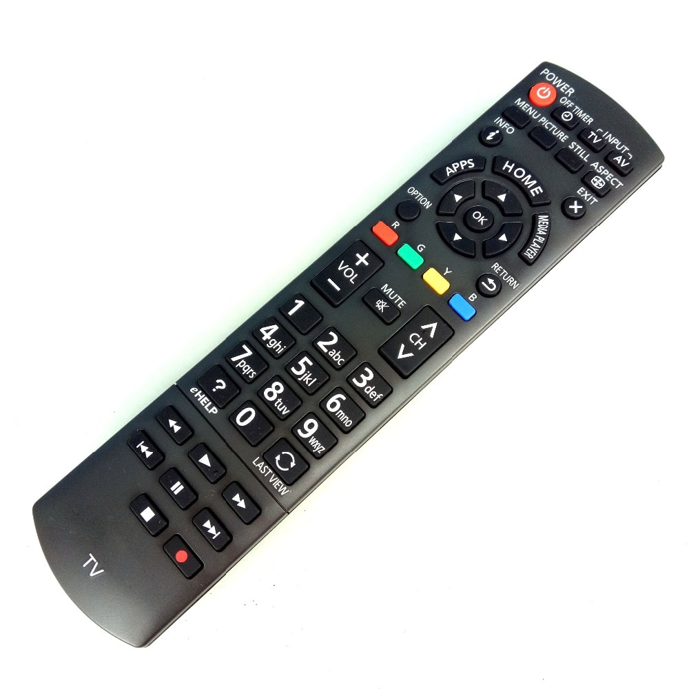 Novo original para panasonic tv controle remoto n2qayb000834 para TH-42AS610G TH-50AS610K TH-32AS610M fernbedienung