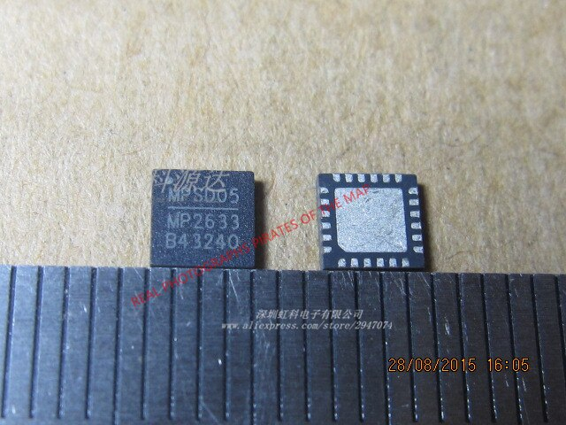 5 pçs/lote MP2633 QFN-24 MP2633GR MP2633GR-Z Em Estoque