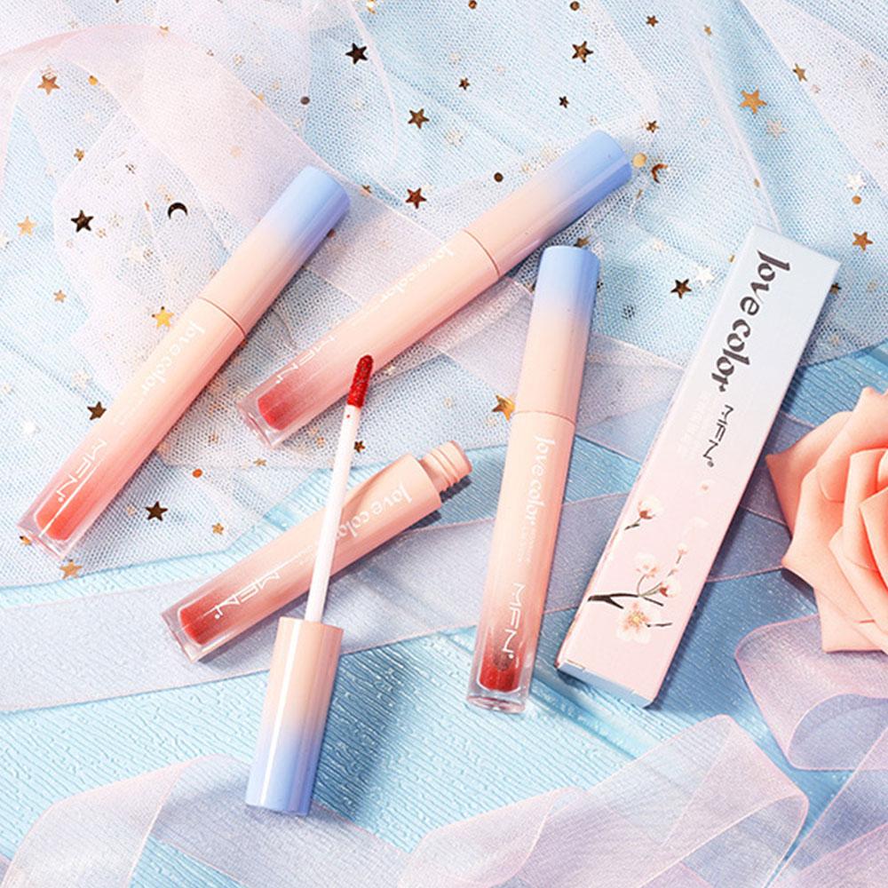 11 Color Matte Lip Gloss Makeup Liquid Lipstick Woman Sexy Red Lip Tint Waterproof Professional Glitter Lipstick Korean Cosmetic
