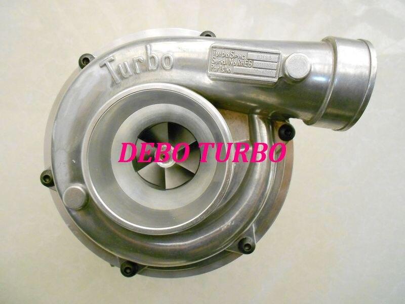 NUOVO RHG6/macchina di Ingegneria 14400-4380 turbo Turbocompressore per HITACHI ISUZU 6HK1 engine