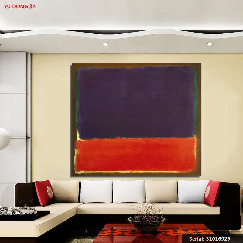 Mark Rothko Naturaleza muerta pintura al óleo clásica arte lienzo con pulverizador sin enmarcar aerógrafo vino imagen bronce figure31016925