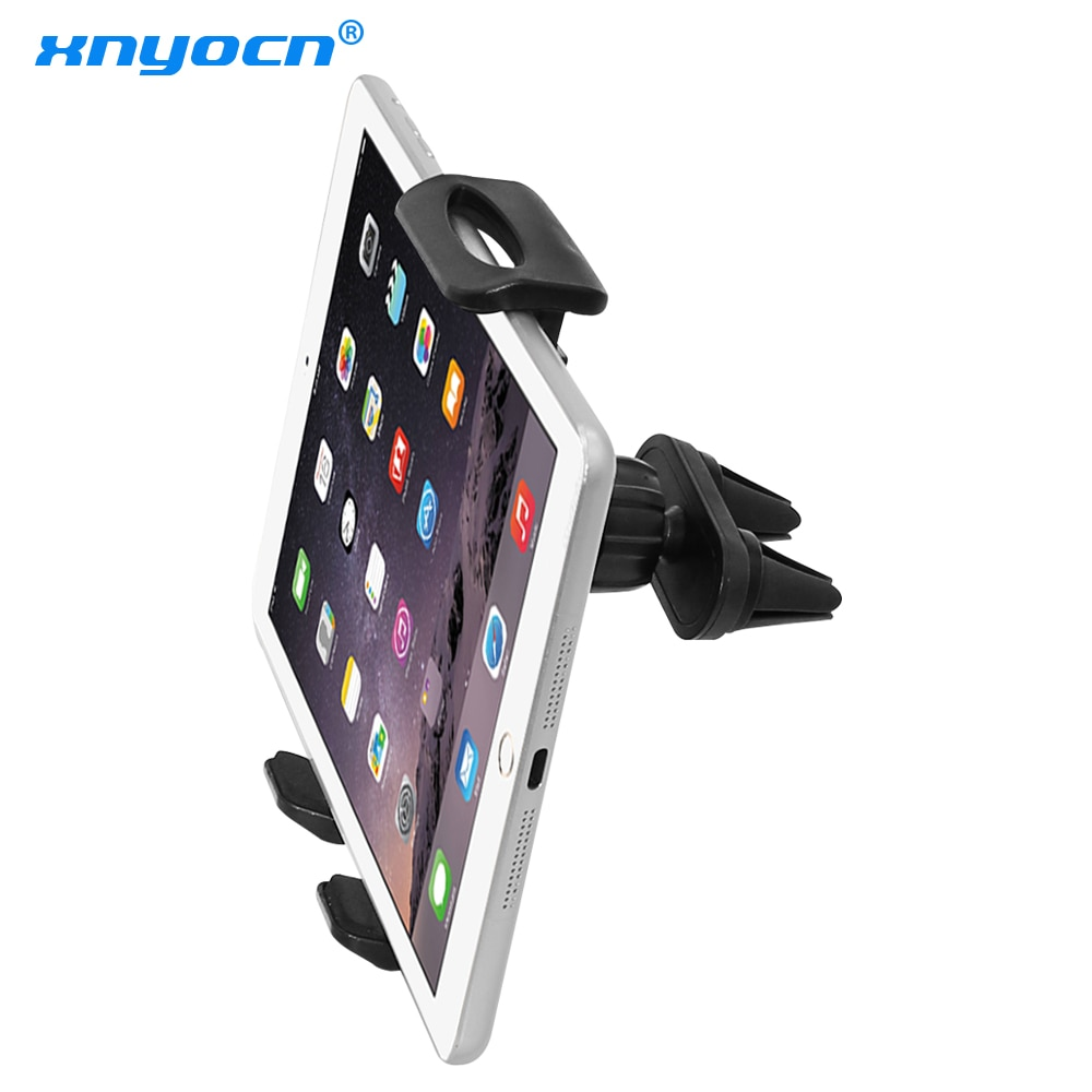 AliExpress - Car Air Vent Double Mount Holder Stand For 7 to 11 inch ipad mini Pro Air Samsung Galaxy Tab Tablet PC for huawei xiaomi Tablet