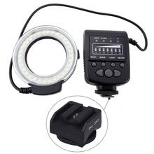 Mcoplus FC100 Flash Danneau Macro lumière LED + SH21 pour Sony RX100M2 RX1 RX1R A6000 A7 A7R A7S NEX-6 A3000 A99 A58 HX400 HX60 HX50